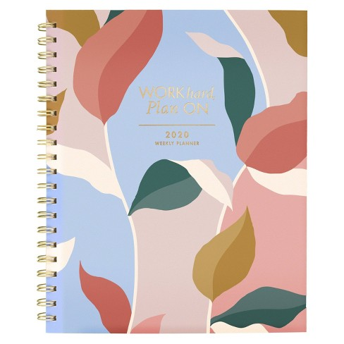 """2020 Clear Poly Planner 11.5""""x 8.5"""" Leaves - Create & Cultivate - image 1 of 4"""