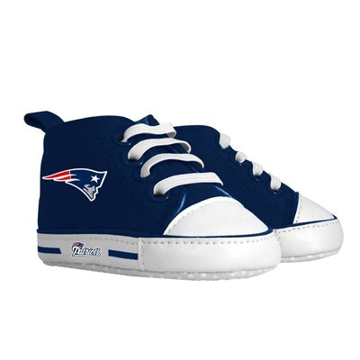 NFL New England Patriots Baby High Top Sneakers - 0-6M