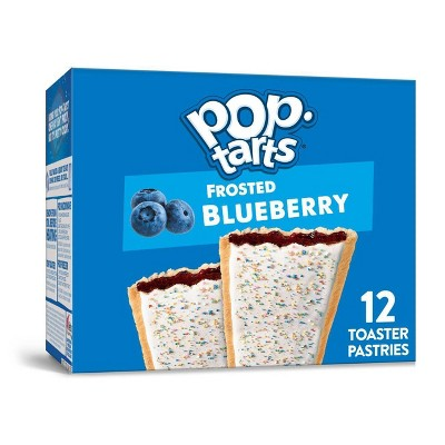 Kellogg's Pop-Tarts Frosted Blueberry Pastries - 12ct/20.31oz