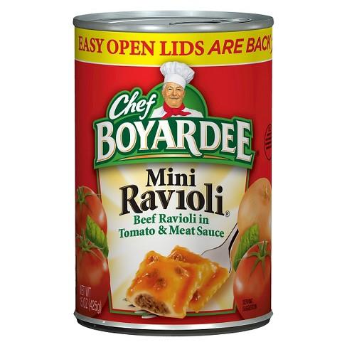 Chef Boyardee Mini Ravioli 15 oz - image 1 of 1