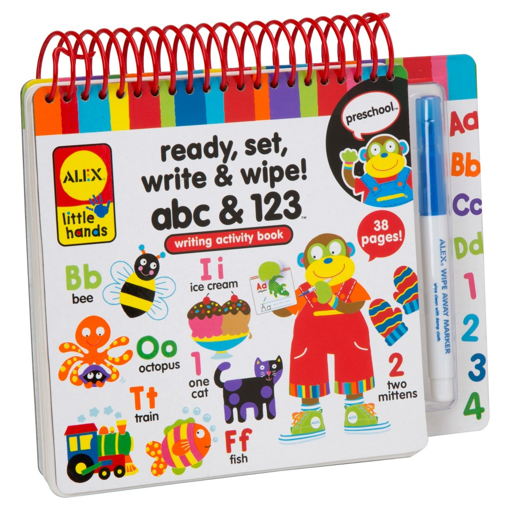 Image of ALEX Toys Little Hands Ready, Set, Write