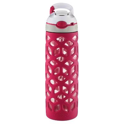 Contigo AUTOSPOUT® Straw Ashland 20oz Glass Water Bottle - Very Berry
