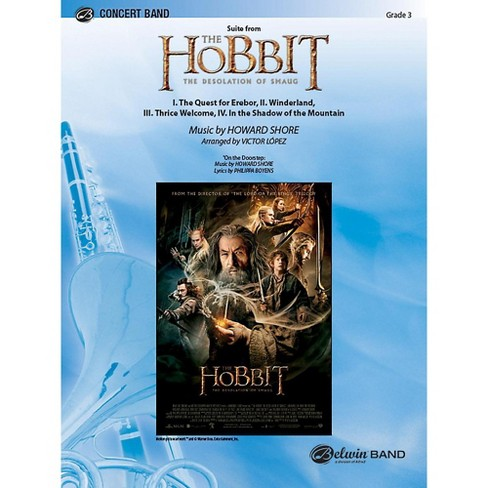 Alfred Suite from The Hobbit: The Desolation of Smaug Concert Band Grade 3.5 Set - image 1 of 1