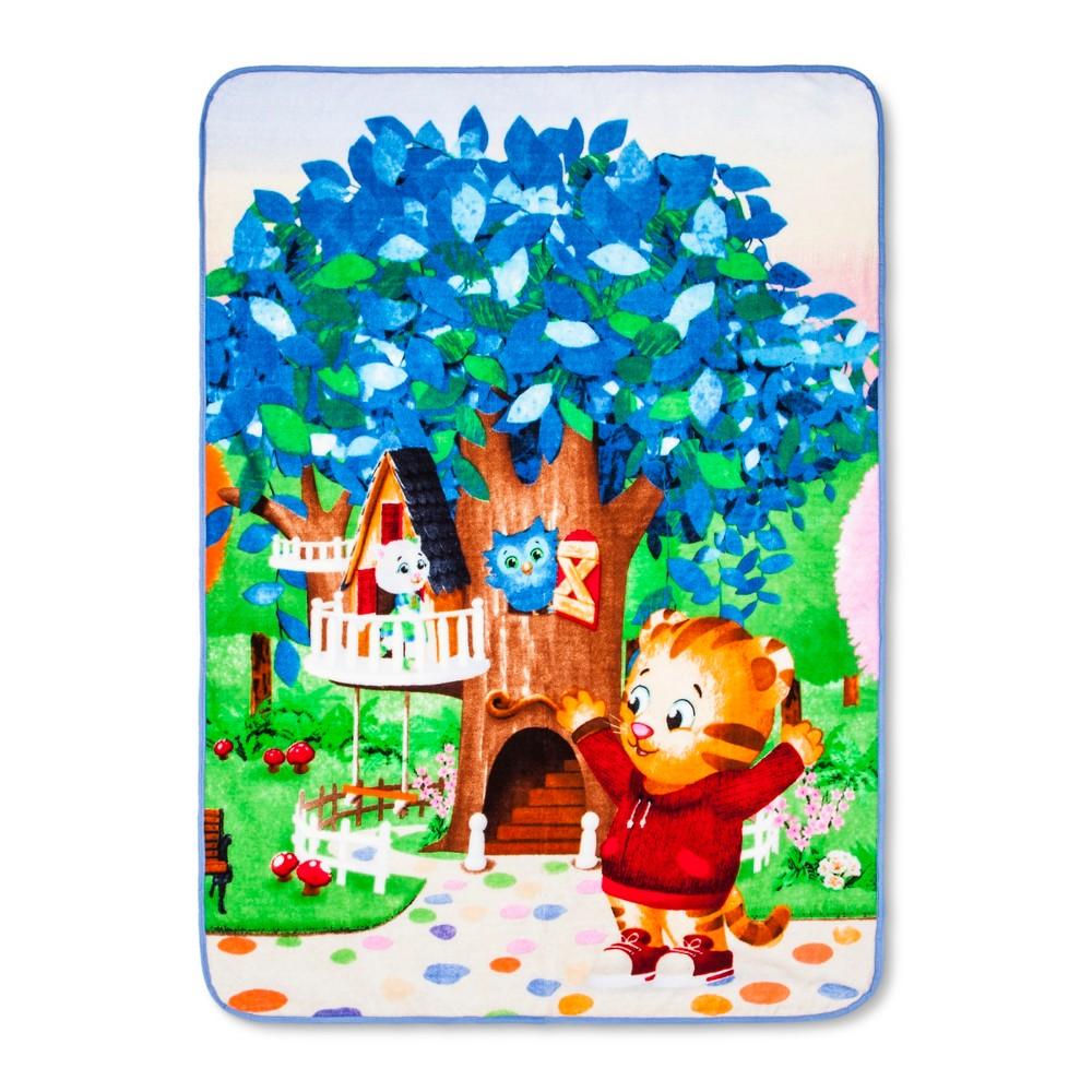 "Image of ""Daniel Tiger's Neighborhood Blue & Green Throw Blanket (50""""x60"""")"""