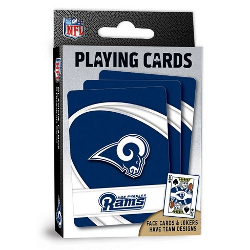 NFL Los Angeles Rams Playing Cards - image 1 of 3
