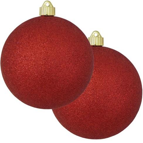 Christmas By Krebs 2ct Red Shatterproof Christmas Ball Ornament 6 150mm Target