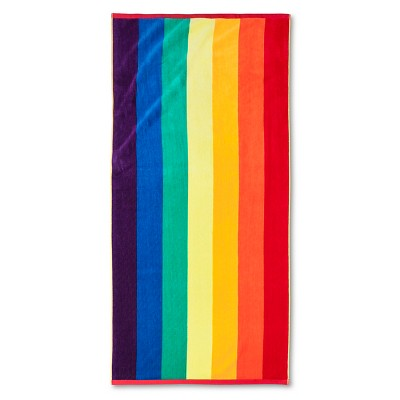 Pride Rainbow Beach Towel