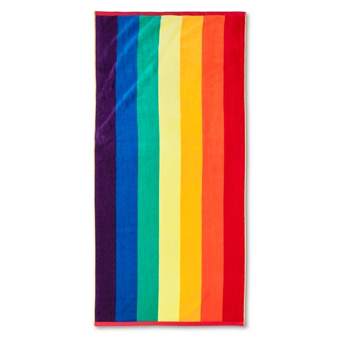 Pride Rainbow Beach Towel - image 1 of 1