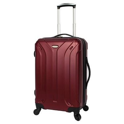 Skyline Glide 22  Carry On Suitcase - Burgundy