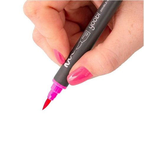 Double Ended Brush Tip Markers, 8ct - Yoobi™ - image 1 of 3