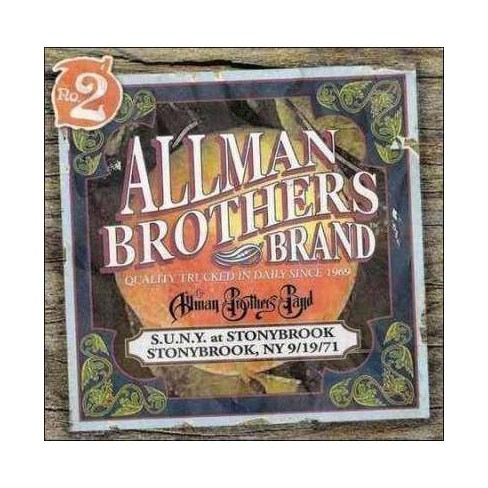 Allman Brothers Band (The) - Suny at Stonybrook 9/19/71 (Live) (CD) - image 1 of 1