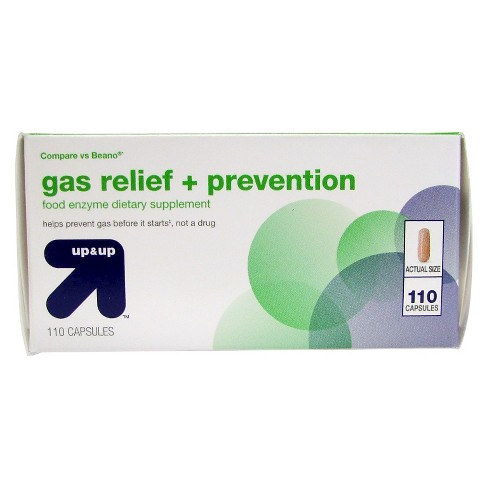 Gas Treatment And Prevention 110ct Upup Compare Vs Beano