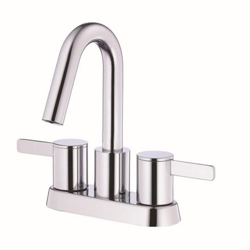 Danze D301130 Amalfi 1 2 Gpm Centerset Bathroom Faucet With Pop Up Drain Assembly Target