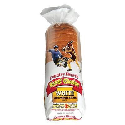 Country Hearth Kids Choice Whole Grain White Bread - 24oz