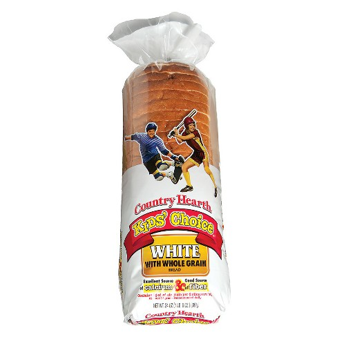 Country Hearth Kids Choice Whole Grain White Bread - 24 oz - image 1 of 1
