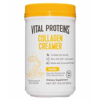 Vital Proteins Collagen Creamer Vanilla Dietary Supplements