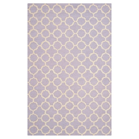 9'X12' Geometric Area Rug Lavender - Safavieh - image 1 of 2