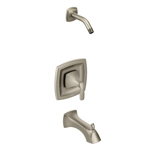 Moen T2693NH Posi-Temp Pressure Balanced Tub and Shower Trim and Tub Spout from the Voss Collection (Less Valve) - image 1 of 1