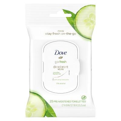 Deodorant: Dove Deodorant Wipes