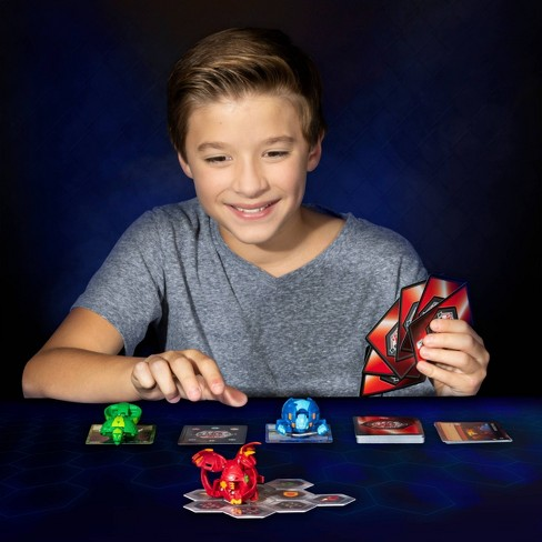 """Bakugan Aquos Cyndeous 2"""" Collectible Action Figure and Trading Card - image 1 of 1"""