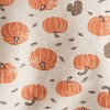 Baby Organic Cotton Pumpkin Top and Bottom Set - little planet by carter's White/Brown/Orange - image 4 of 4