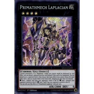 1st Edition MYFI-EN009 Secret Rare Primathmech Laplacian