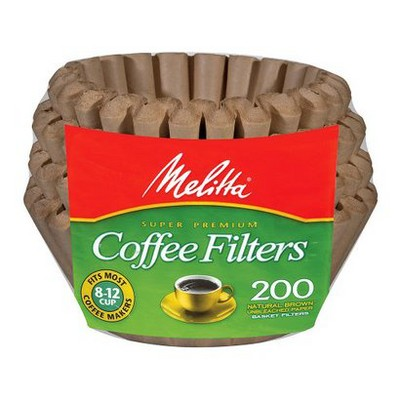 Melitta Natural Brown Coffee Filters 200-ct.