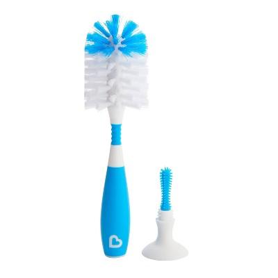 Munchkin Bristle Bottle Brush - Blue