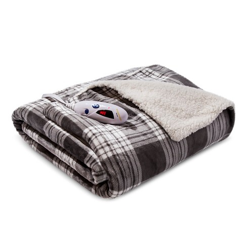 Electric Velour/Sherpa Throws - Biddeford - image 1 of 1