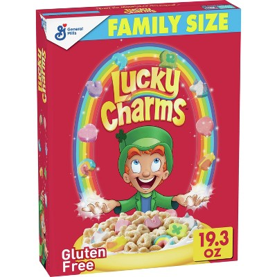 Lucky Charms Breakfast Cereal - 19.3oz - General Mills