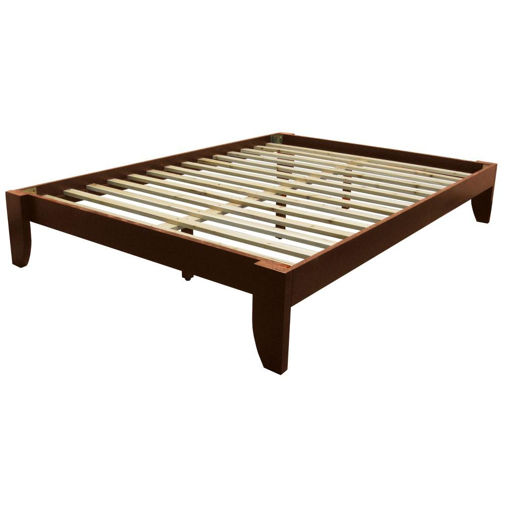 Image of Gibraltar Solid Bamboo Wood Platform Bed Frame - Epic Furnishings
