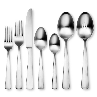Oneida 42pc Stainless Steel Anderson Silverware Set with Caddy
