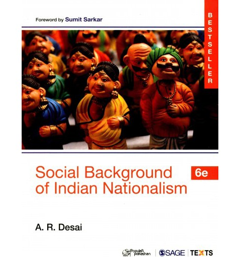 Social Background of Indian Nationalism (Paperback) (A. R. Desai) - image 1 of 1