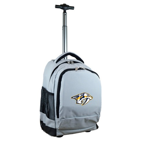 NHL Mojo Nashville Predators Wheeled Backpack - Gray - image 1 of 4