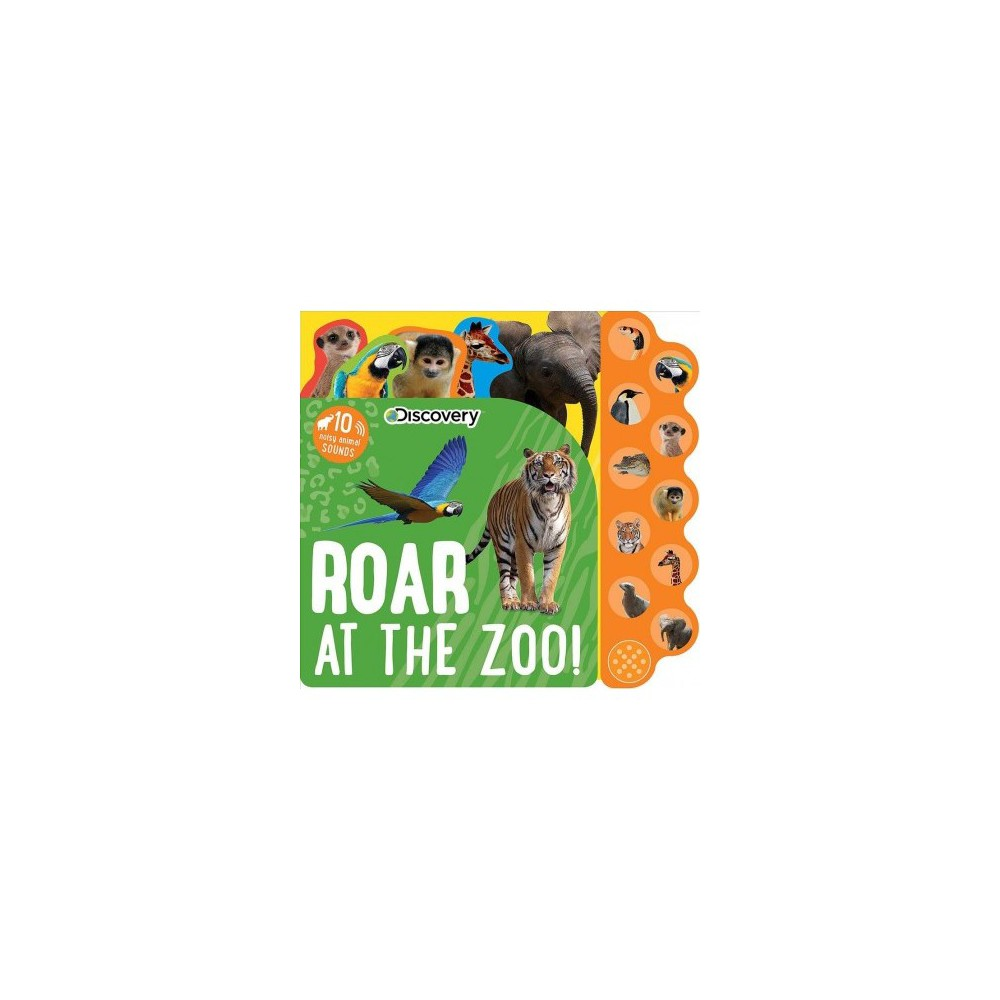 Roar at the Zoo! - Brdbk (Hardcover)