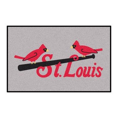 "MLB St. Louis Cardinals 1930 19""x30"" Retro Accent Rug"