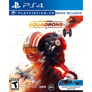 Star Wars: Squadrons - VR Mode Included - PlayStation 4 : Target