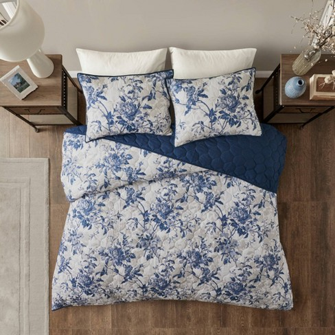 Aimatia Cotton Printed Coverlet Set - image 1 of 4