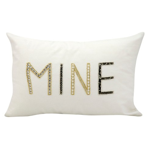 "Mine Throw Pillow (12""x18"") - Nourison - image 1 of 1"