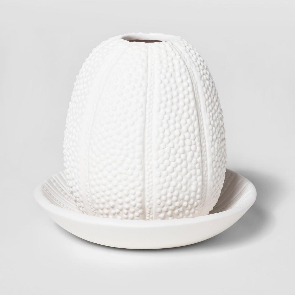 Ceramic Shell Trinket Tray - Threshold, Off White
