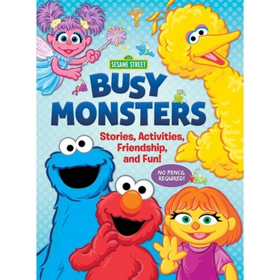 Sesame Street Busy Monsters Activity Book