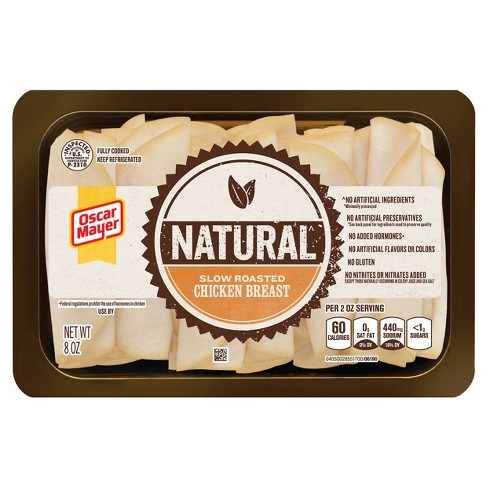 Oscar Mayer Natural Slow Roasted Chicken Breast - 8oz - image 1 of 2