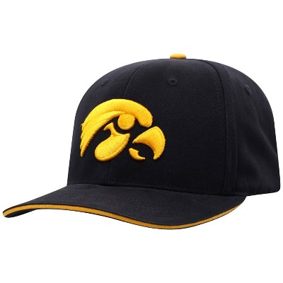 NCAA Iowa Hawkeyes Men's Reality Structured Brushed Cotton Hat