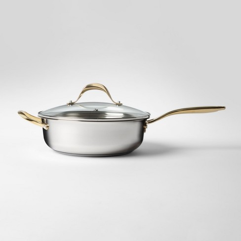 Cravings by Chrissy Teigen 5qt Stainless Steel Saute Pan with Lid - image 1 of 2
