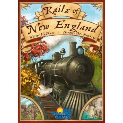 Rails of New England Board Game