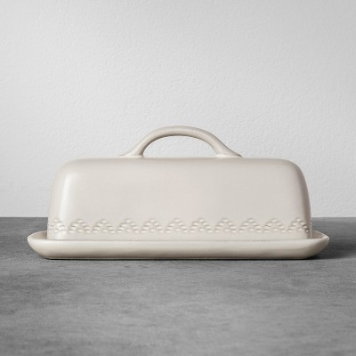 Stoneware Butter Dish - Cream - Hearth & Hand™ with Magnolia