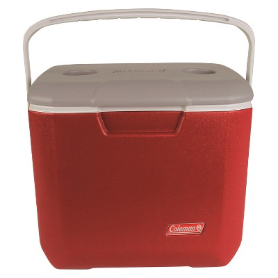 Coleman 30qt Bail Handle Cooler - Red