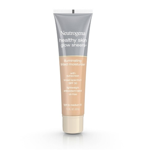 Neutrogena Healthy Skin Glow Sheers - 30 Light to Medium - 1.1 fl oz - image 1 of 8