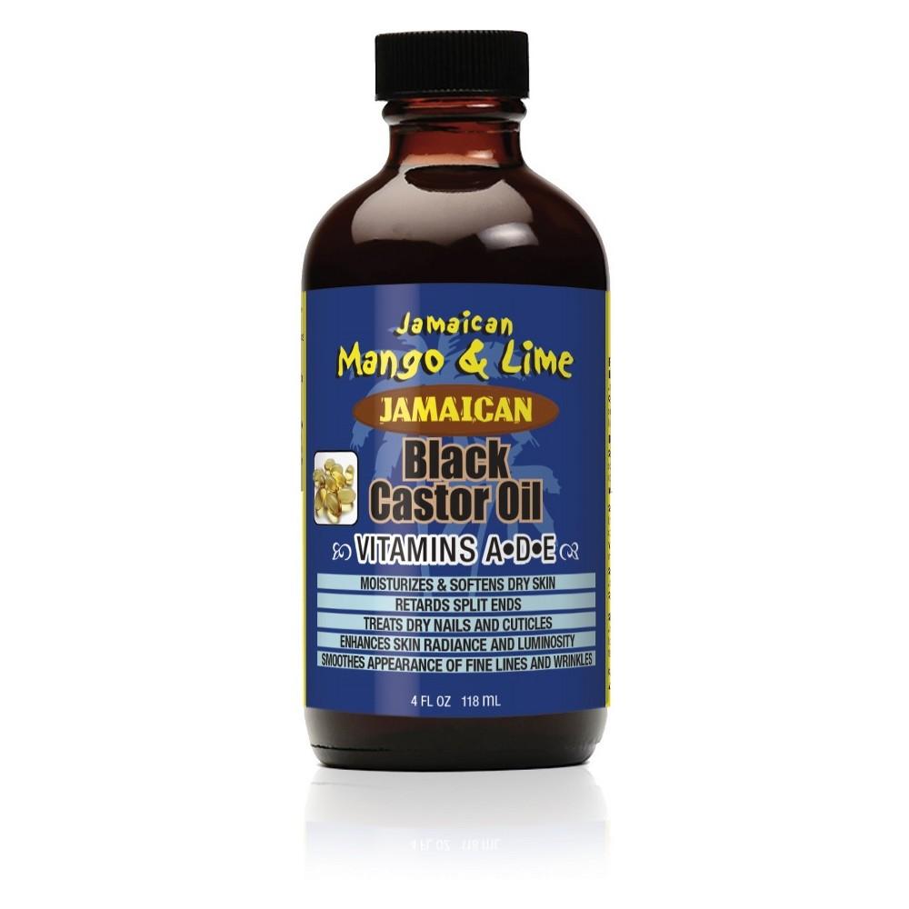Image of Jamaican Mango and Lime Black Castor Oil Vitamin A, D & E - 4 fl oz