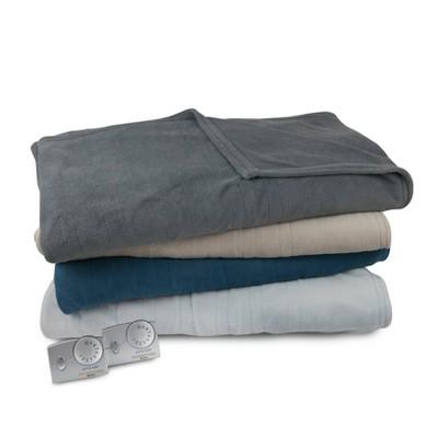 Microplush Electric Blanket Biddeford Blankets Target